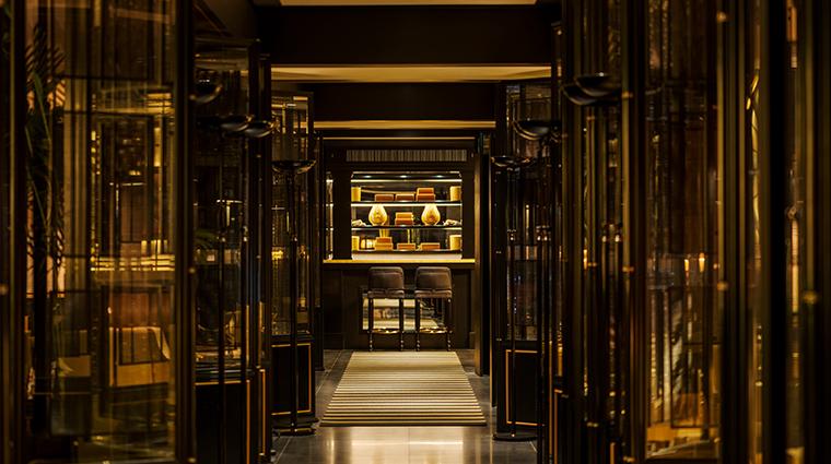 six senses duxton reception corridor
