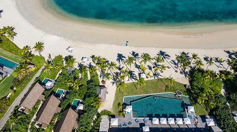 six senses fiji beachfront pool villas