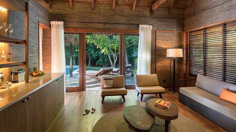 six senses fiji hideaway pool suite