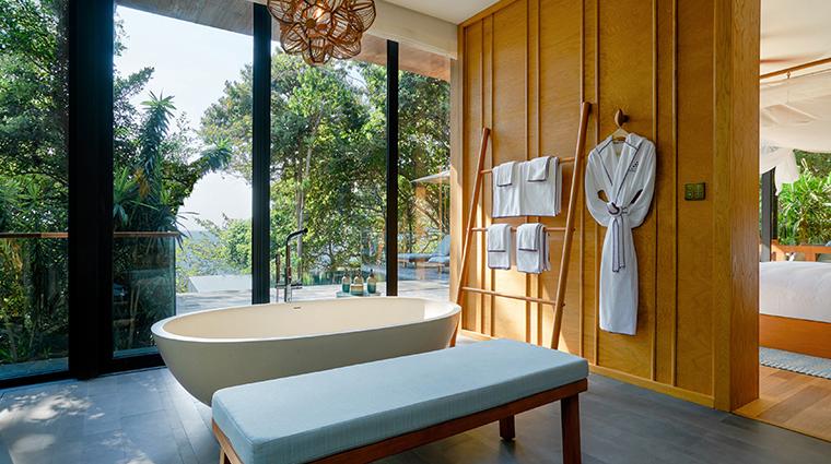 six senses krabey island hideaway pool villa suite bathroom