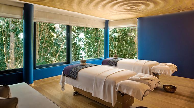 six senses krabey island spa treatment room