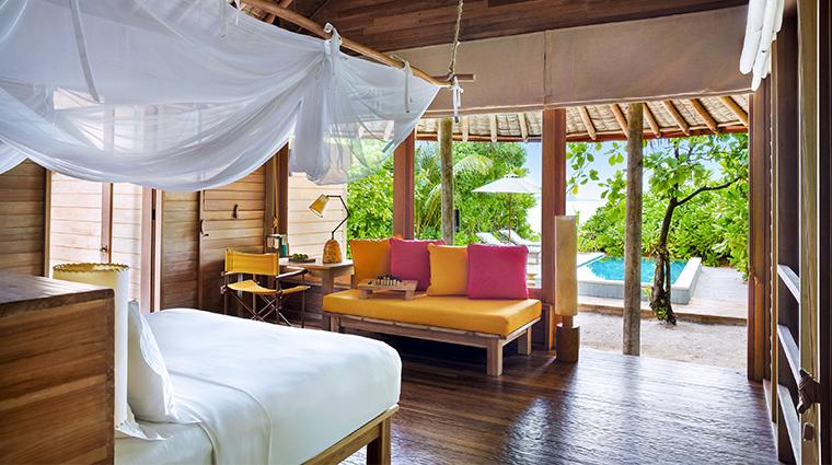 six senses laamu ocean beach villa