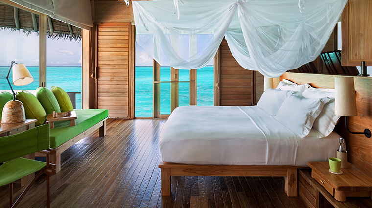 six senses laamu water villa with pool