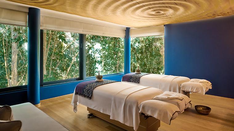 six senses spa at krabey island couples treatment room