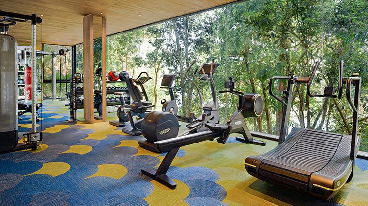 six senses spa at krabey island fitness center