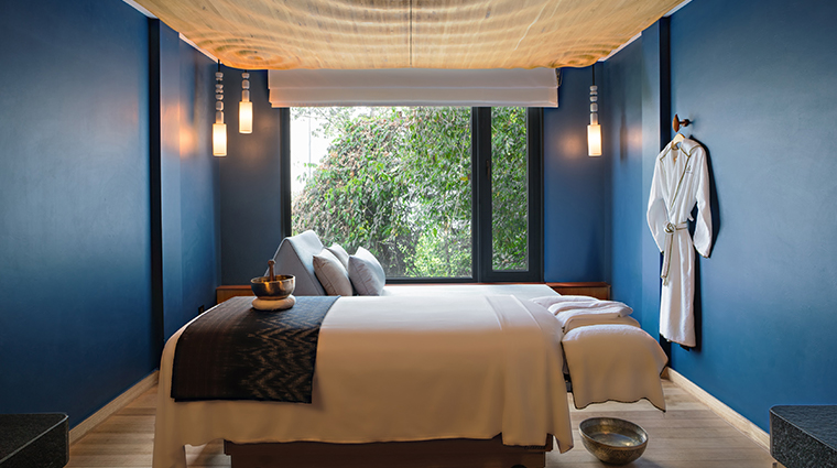 six senses spa at krabey island treatment room