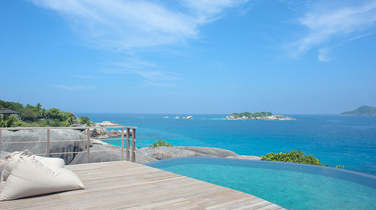 six senses spa zil pasyon spa pool