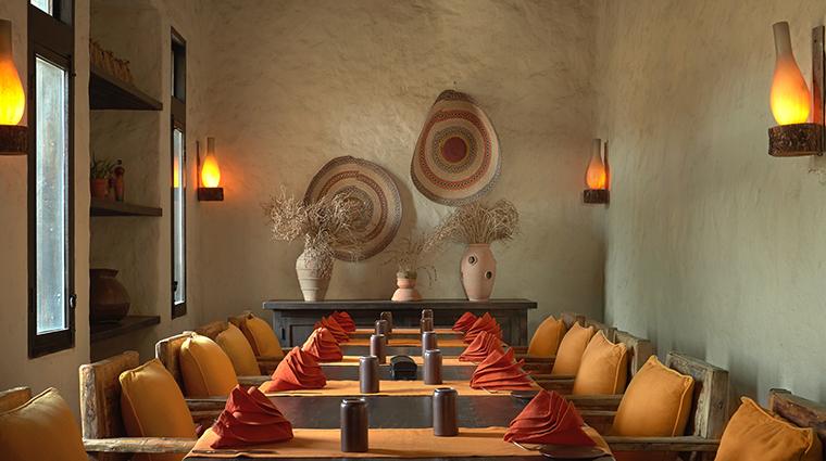 six senses zighy bay Spice Market chefs table
