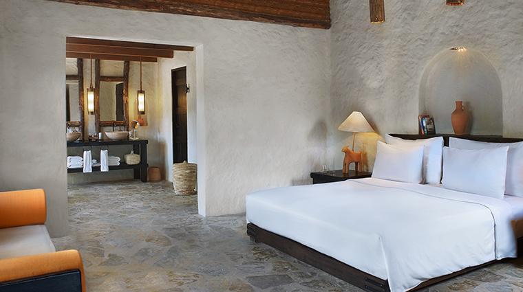 six senses zighy bay pool villa bedroom
