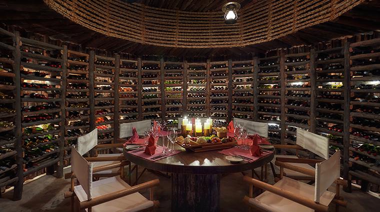 six senses zighy bay wine cellar