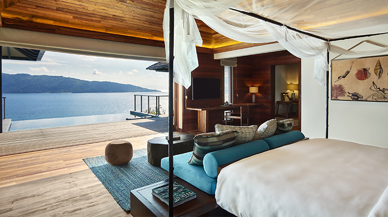 six senses zil pasyon pool villa