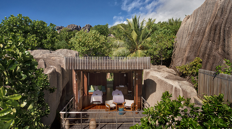 six senses zil pasyon spa treatment villa