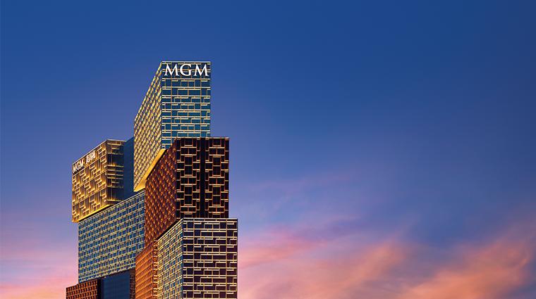 mgm cotai building night