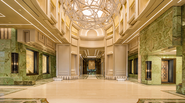 mgm cotai emerald lobby