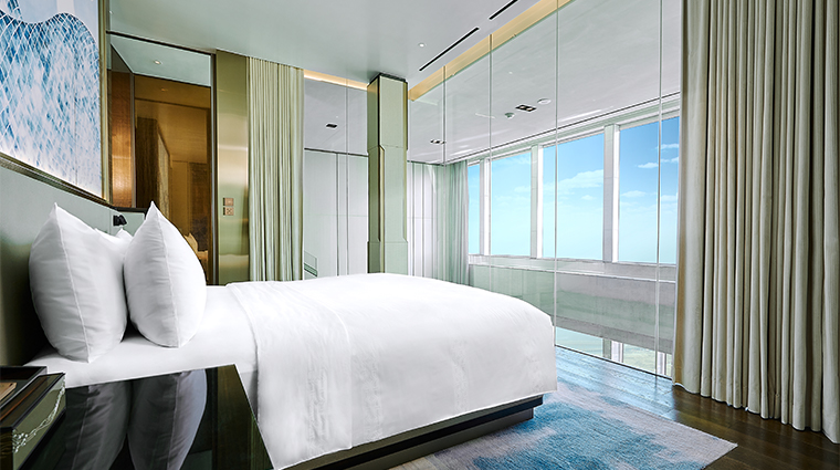 mgm cotai skylofts duplex bed