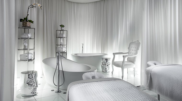 sls hotel at beverly hills a luxury collection hotel ciel spa treatment room
