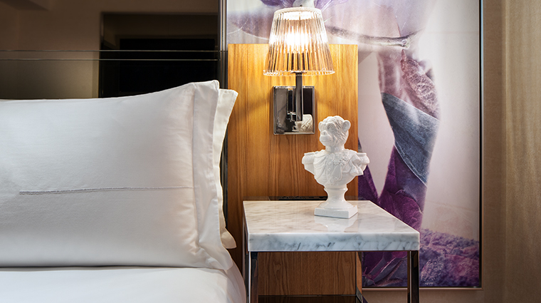 sls hotel at beverly hills a luxury collection hotel guestroom detail
