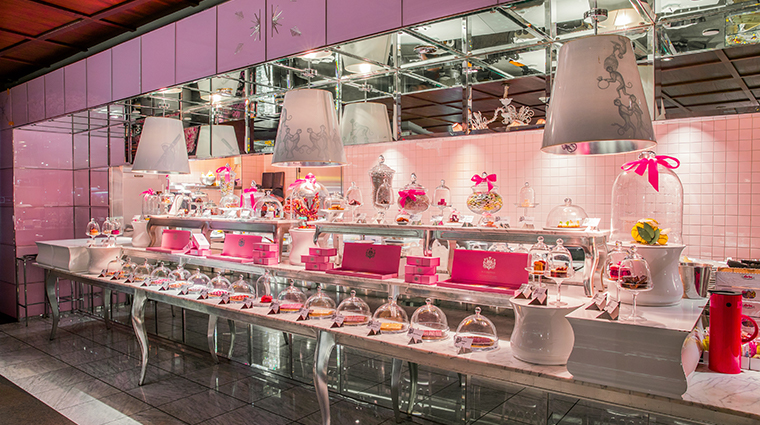 sls hotel at beverly hills a luxury collection hotel patisserie