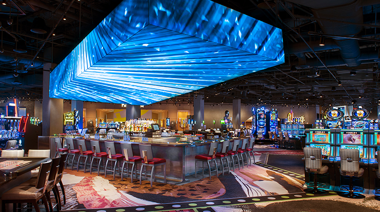 sls las vegas hotel casino center bar