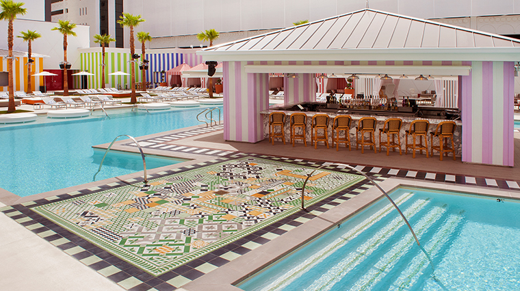 sls las vegas hotel casino foxtail pool