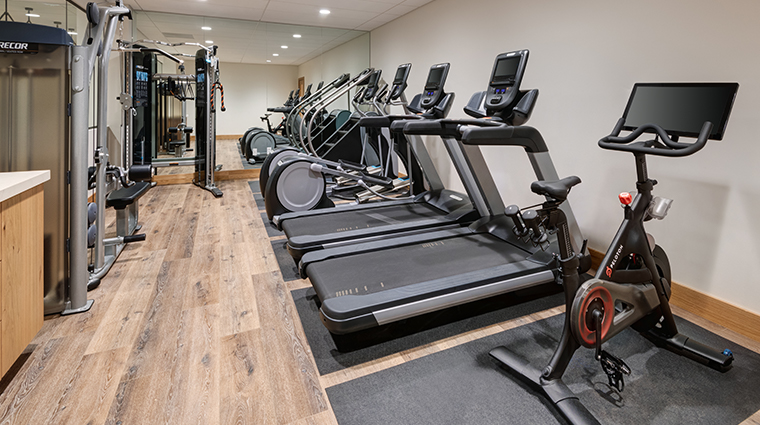 snowpine lodge fitness center