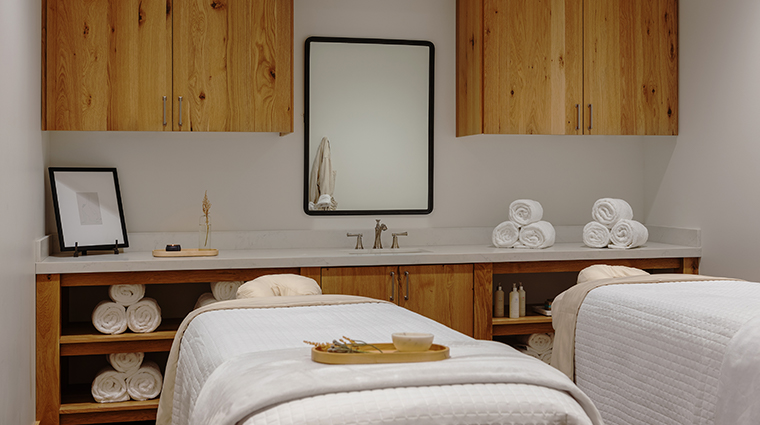 snowpine lodge treatment room
