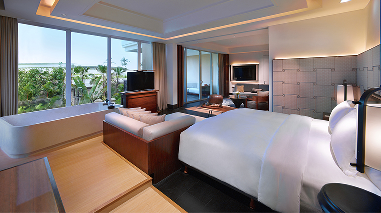 sofitel bali nusa dua beach resort prestige suite bedroom
