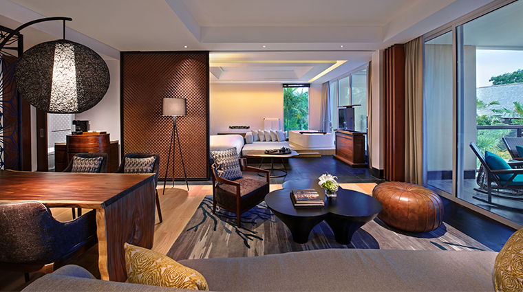 sofitel bali nusa dua beach resort prestigue suite living room