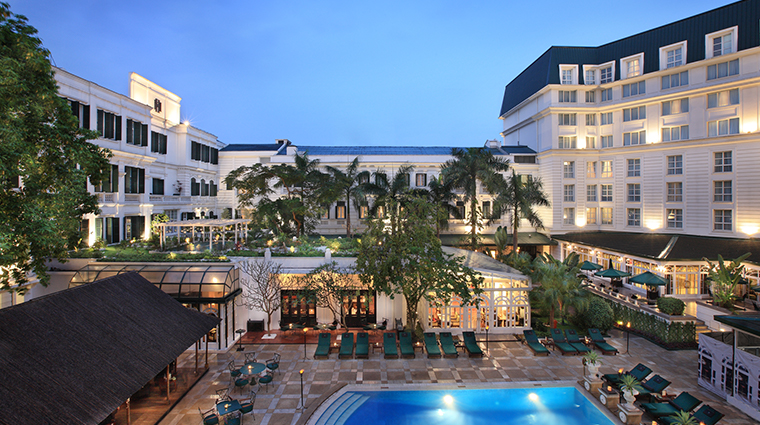 sofitel legend metropole hanoi swimming pool