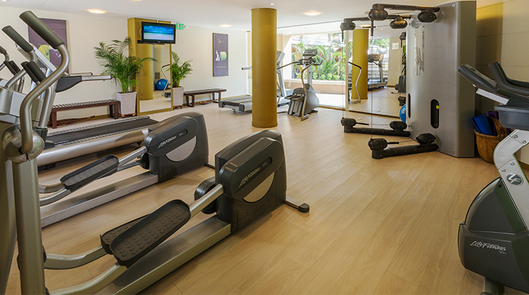 sofitel legend santa clara So Fit fitness center