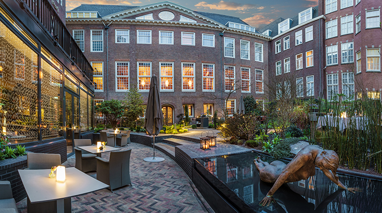 sofitel legend the grand amsterdam courtyard