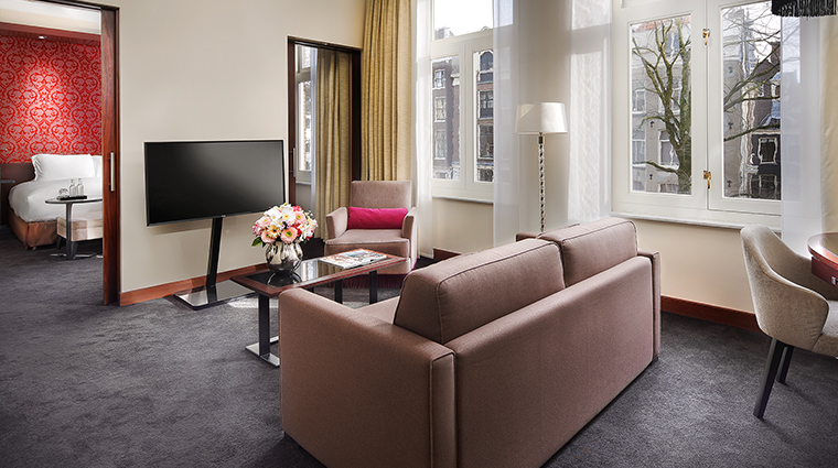 sofitel legend the grand amsterdam prestigue suite living room