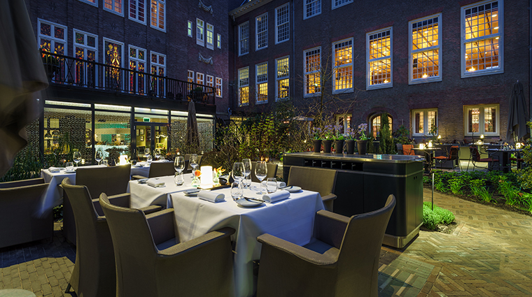 sofitel legend the grand amsterdamcourtyard night