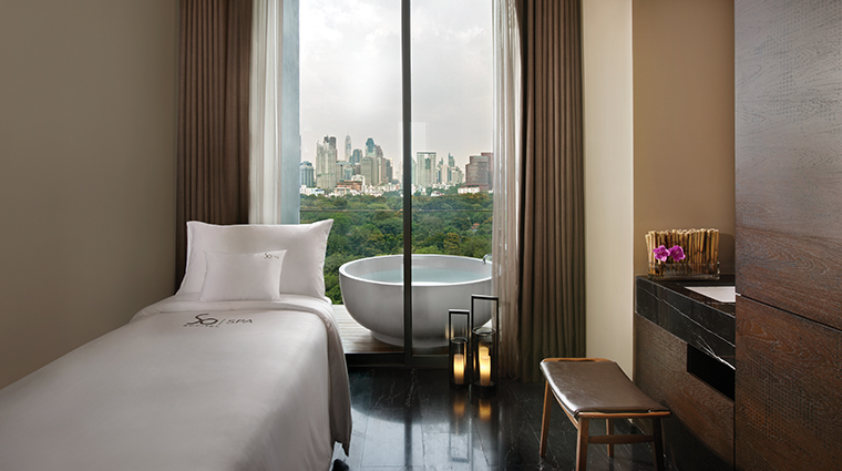 so sofitel bangkok spa treatment room