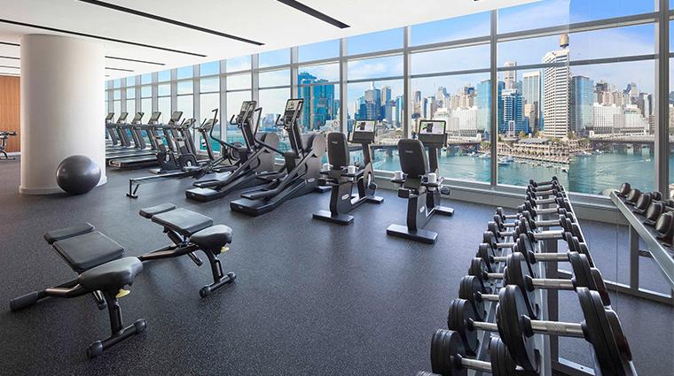 sofitel sydney darling harbour gym