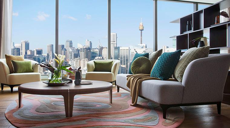 sofitel sydney darling harbour living room