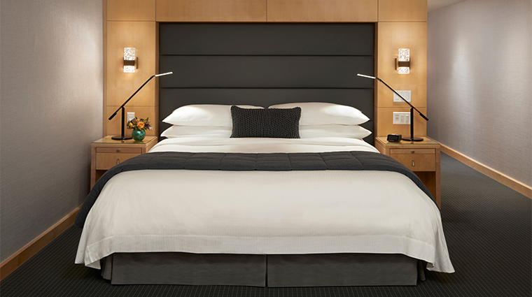 the soho hotel residences guest bed