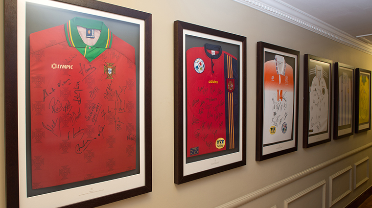 sopwell house Football wall