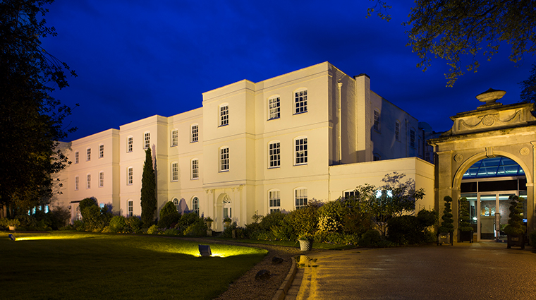 sopwell house exterior night