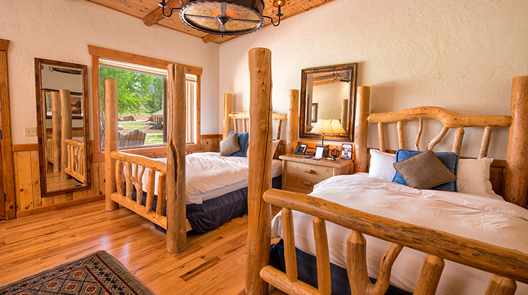 sorrel river ranch resort spa double beds