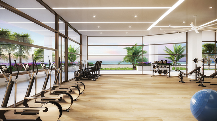spa at amrit ocean resort and residences fitness center