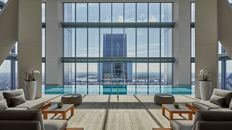 four seasons hotel philadelphia at comcast center indoor pool
