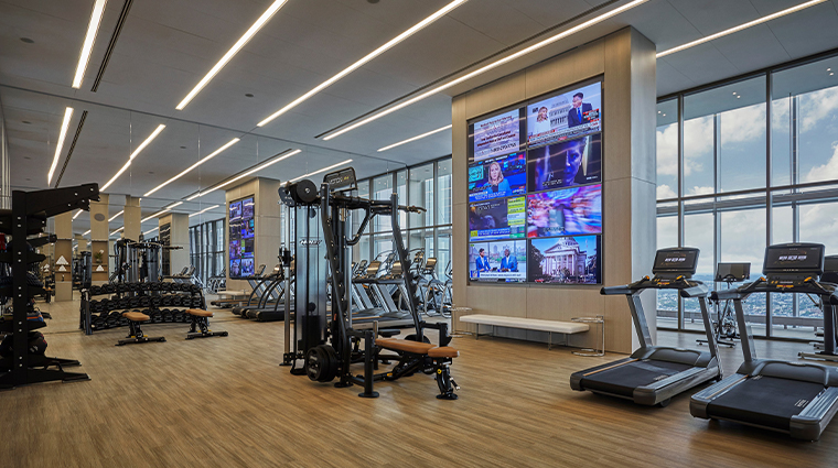 spa at four seasons hotel philadelphia at comcast center fitness center