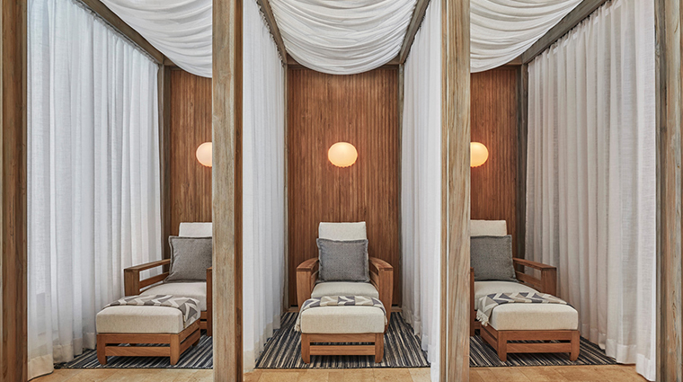 the spa at four seasons resort costa rica loungers