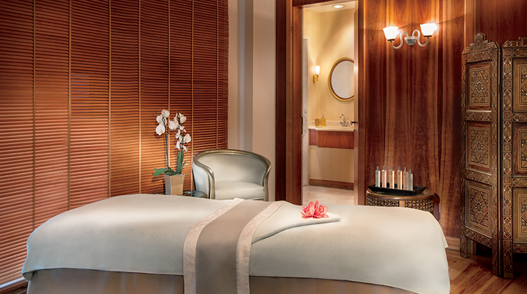 spa at the ritz carlton bahrain treatment room