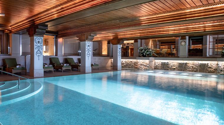 spa la mer at les airelles indoor pool