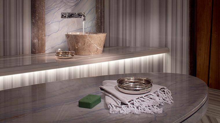spa mont blanc details