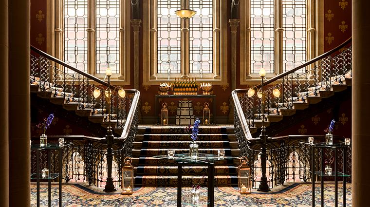 st pancras renaissance london hotel staircase