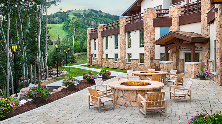 stein eriksen lodge deer valley champions plaza summer