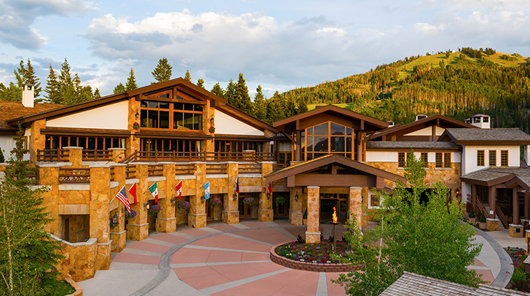 stein eriksen lodge deer valley exterior